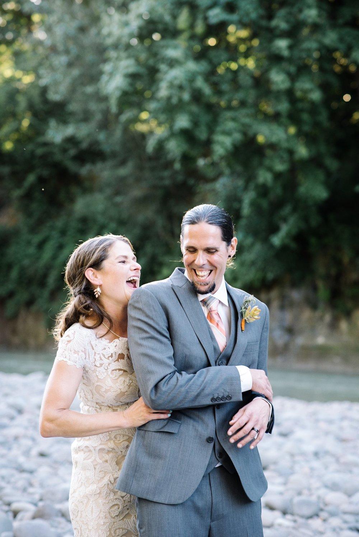 wedding tickle pose