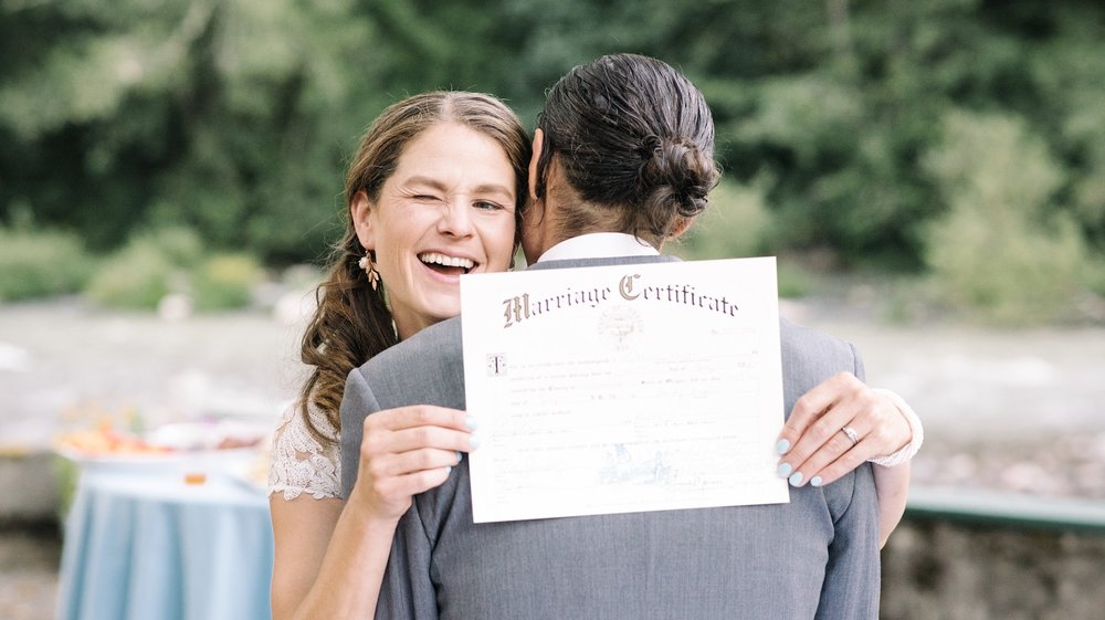 wedding marriage certificate