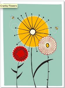 Cranky Flowers by Katherine Lamm