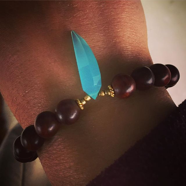 My #badass #new #bracelet from @embracehealingjewelry #warrior #kundalini #light #love #strength #heart