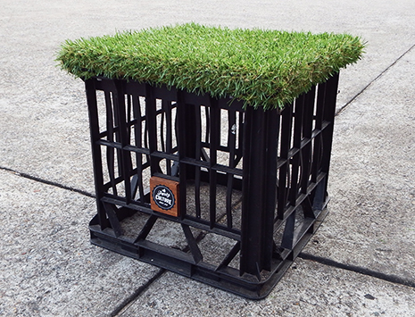 Grass Top Crate Single