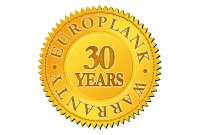 EuroPlank 30 year warranty logo