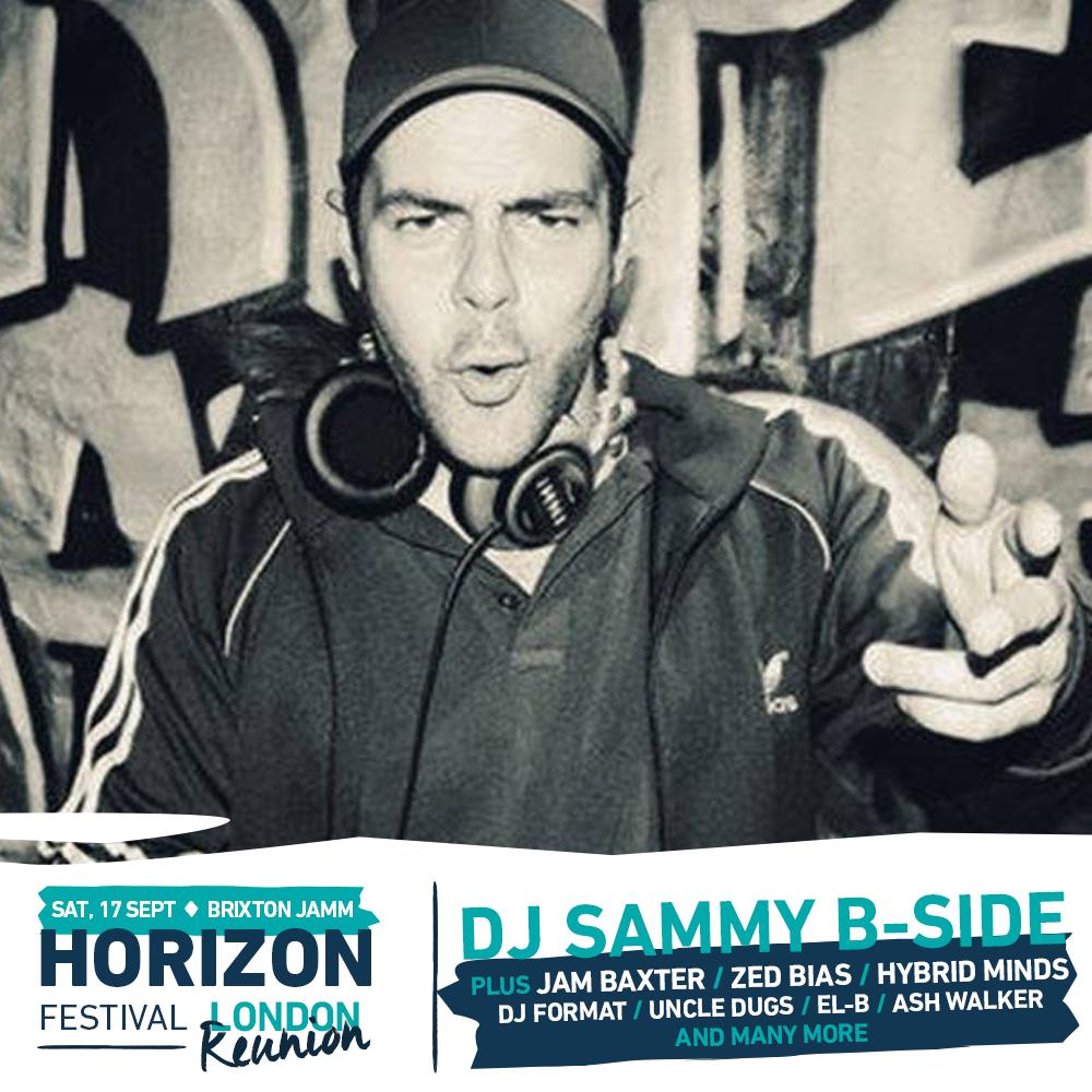 Horizen Festival DJ Sammy B-Side