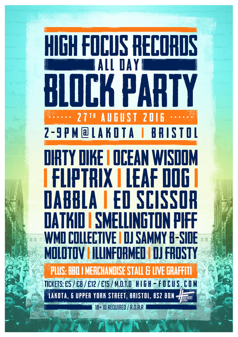 High Focus Records Block Party