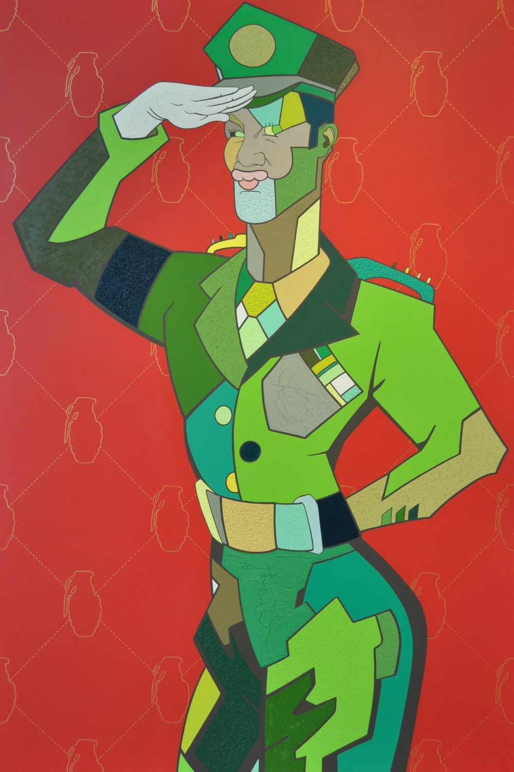 'General O' 48x72 Acrylic on board SOLD.jpg