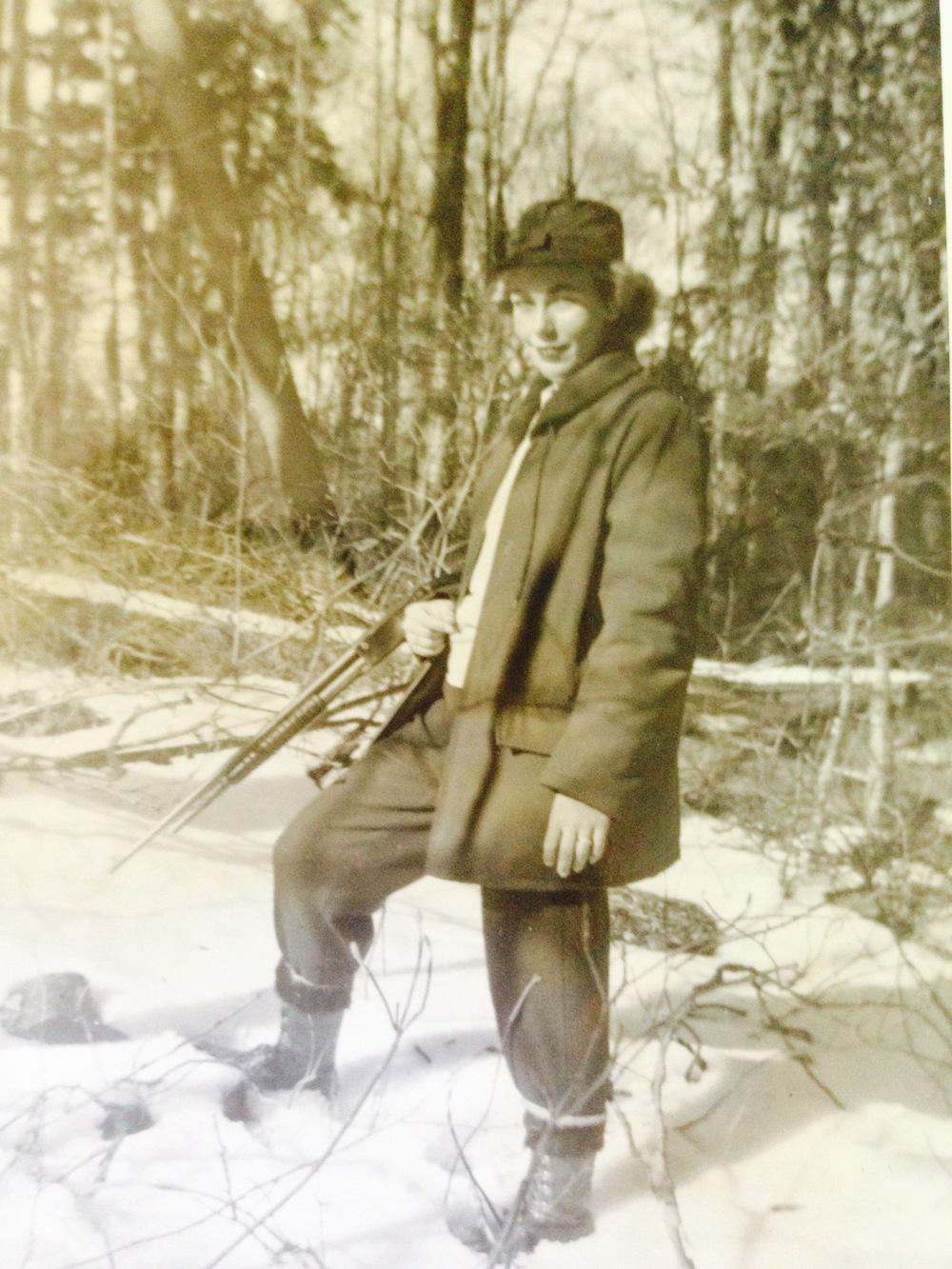 My Mother, ArleneDaney,Little Rapids NY 1950.