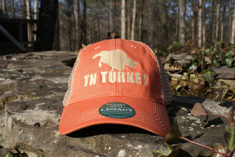 be2e88f47d43f TENNESSEE ORANGE TN TURKEY LEGACY OLD TRUCKER HAT — MyTrophyBuck.com