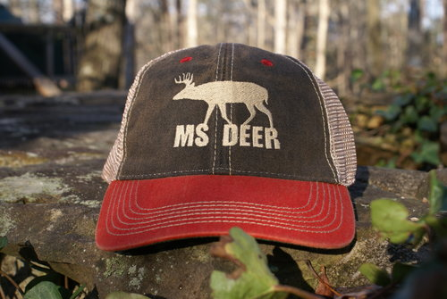 MS DEER LEGACY OLD FAVORITE HAT  BLACK   SCARLET 07915be42c48