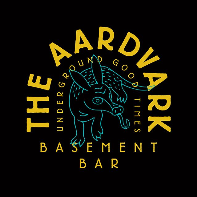 Since launching in July 2018, The Aardvark has revitalised a fantastic 'dive bar' space in Fremantle, Western Australia and is now the premier small bar-band room in the town @theaardvarkbar - check it out. Design by insomnia. - - New work up on the web. Link in bio 👆🏼 - Venue photo: @cloud_stories #insomniadesign #branding #design #livemusic #localmusic #livemusicvenue