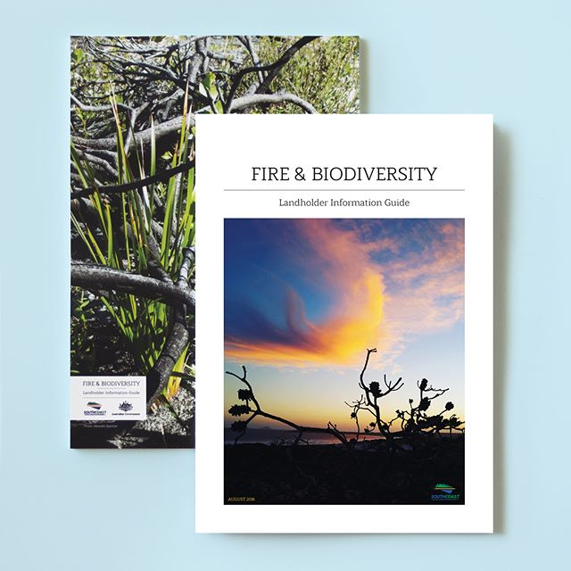 SOUTH COAST NRM Fire & Biodiversity Landholder Information Guide, 80 page publication designed by insomnia.  With the help of their partners, South Coast National Resource Management develop frameworks for managing natural resources (Land, Water, Biodiversity, Cultural Heritage, Coastal & Marine) in WA's Great Southern region.  They aim to achieve positive social & economic outcomes as well as the sustainable management of the natural environment.  #insomniadesign #design #branding # designstudio #publicationdesign