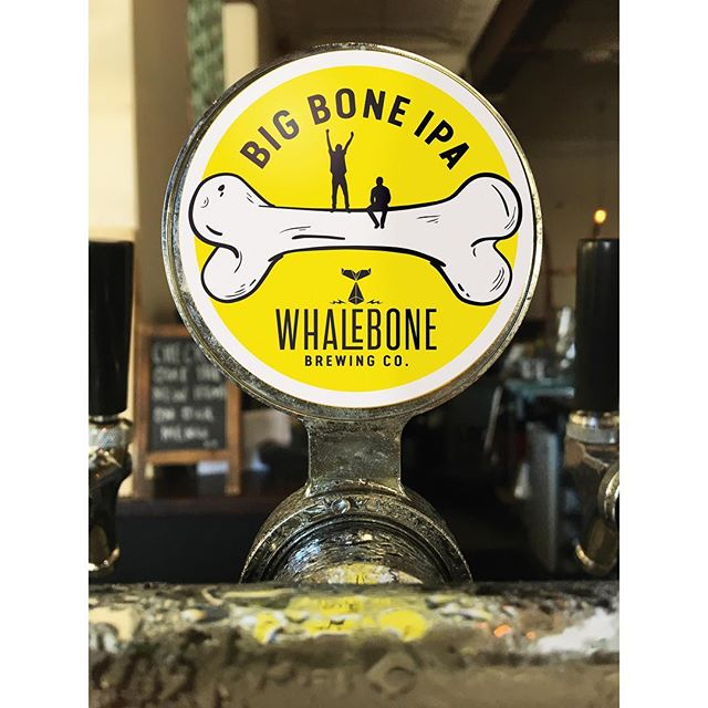 Sneak preview of the first in a series of new tap decals currently in production for @whalebonebrewing  Looking forward to seeing the full range rolled out in the weeks ahead. . . . . #insomniadesign #design #branding #beer #exmouth #brewing @thelocalhotel @piggyfoodco @rodneysbar