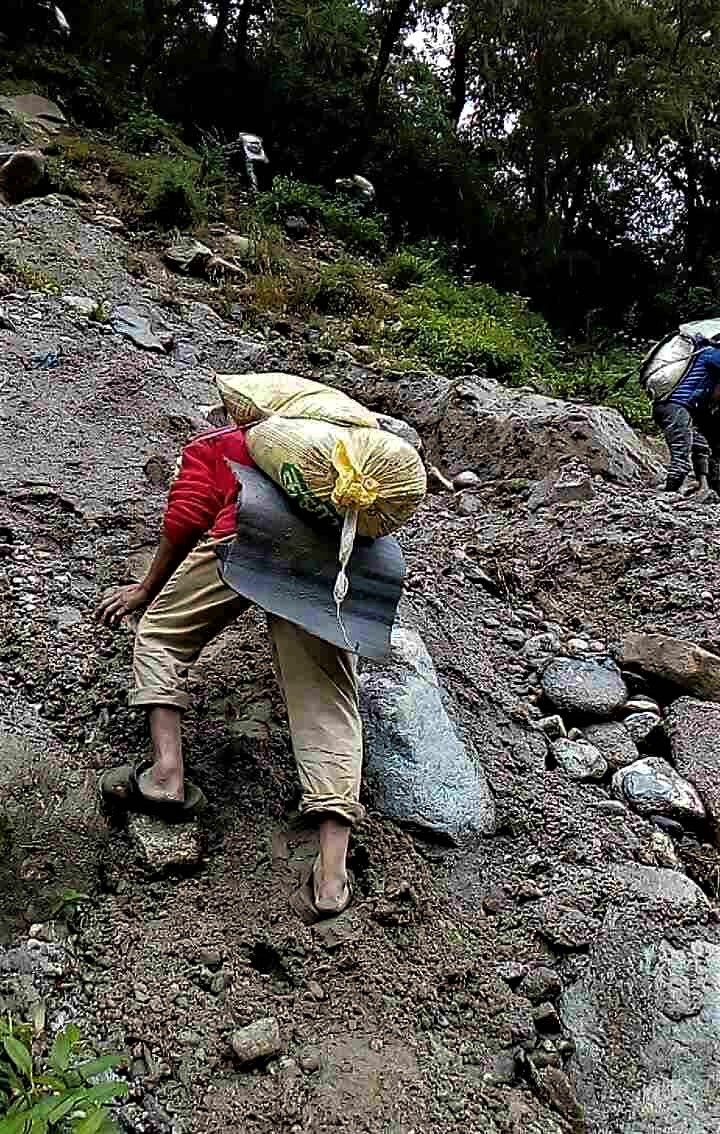 - Harvesting sand for concrete on slopes prone to landslides.