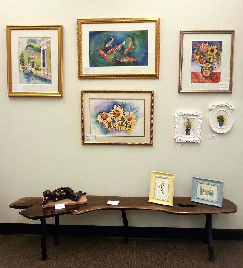 Spring things talleyville frame shoppe gallery by olga nielsen a beautiful wood bench by ed yalisove and great art notecards by maia palmer barbara neville roy and lois blankenship and lots of jeuxipadfo Choice Image