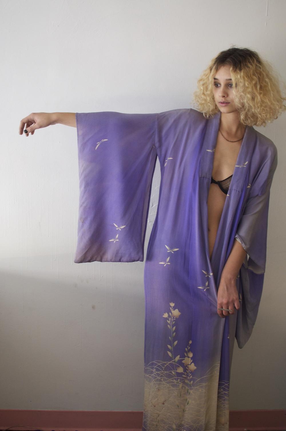 1930s Silk Kimono