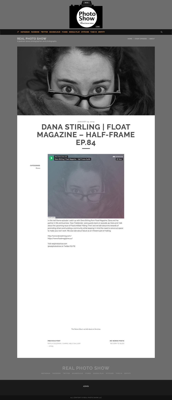 Dana Stirling | Float Magazine – Half-Frame Ep.84 | Real Photo Show (20190119).jpg