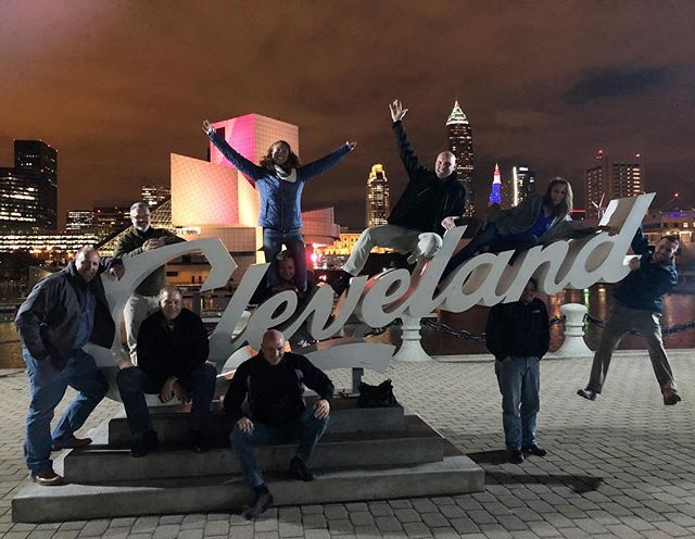 FSSA Marketing committee in Cleveland, Ohio having some well-earrned fun after a long day of hard work!  #throwback #MeetingPlanners #EventDesign #WorkPerks #CreateYourHappy #BehindTheScenes #EventPlanners #WorkFamily #Happy #AMClife #Clemonsandassociatesinc #AssociationManagment #workhardplayhard #motivationalmonday #Motivation