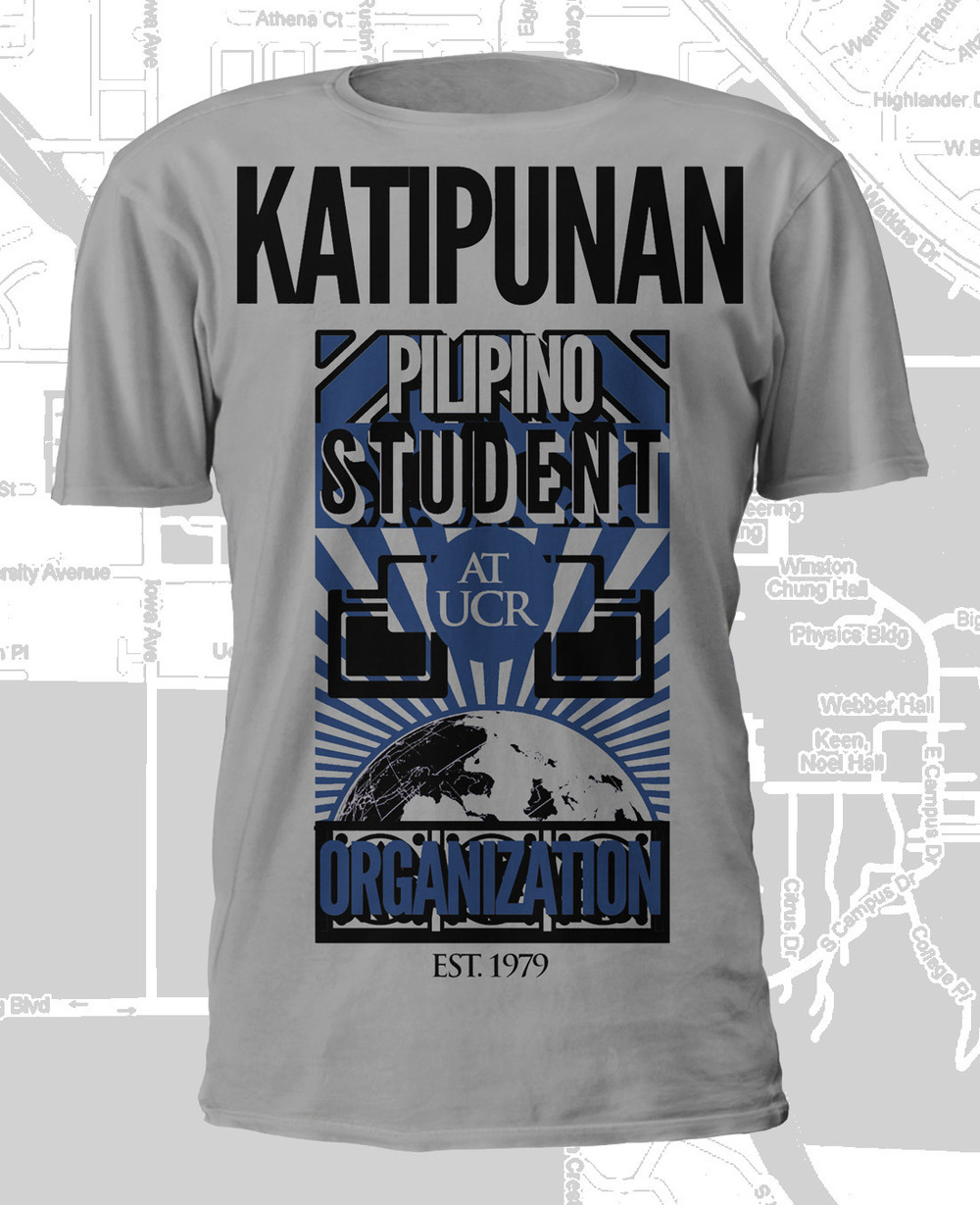 Design for Katipunan Pilipino Student Organization at UC Riverside (2011)