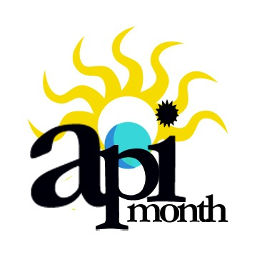API Month logo for Asian Pacific Student Programs Department at UC Riverside (2008)