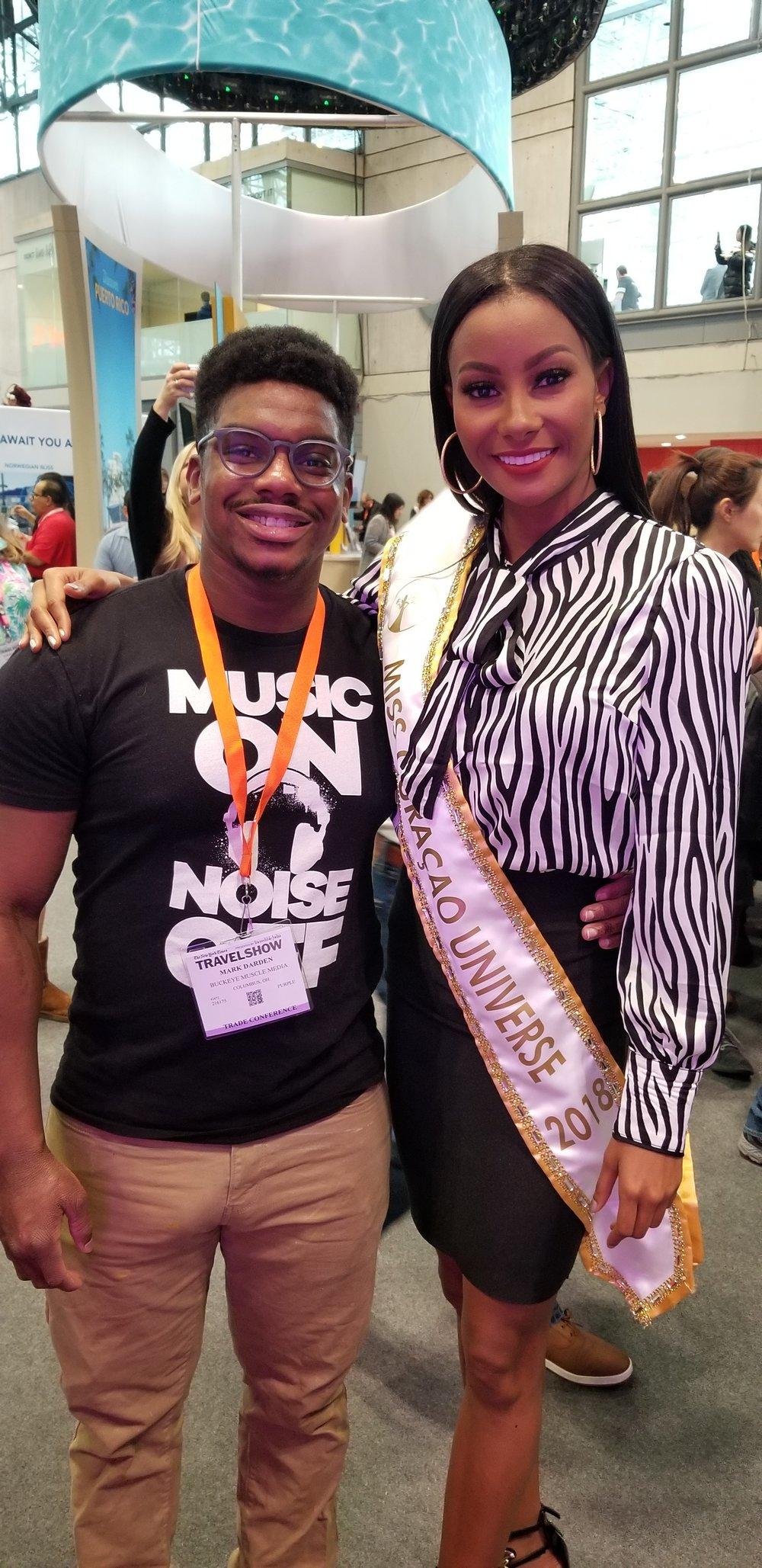 Miss Curacao Universe 2018, Akisha Albert