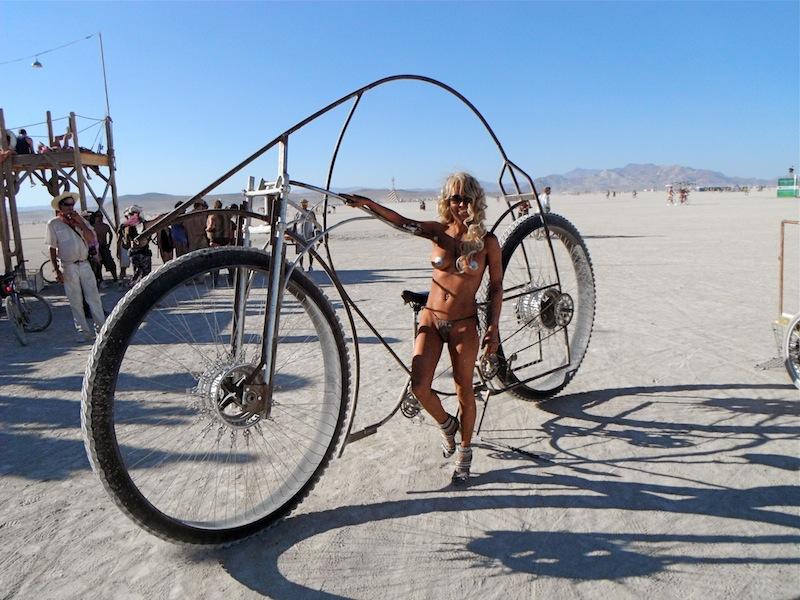 Burning Man Bike Mega Bike