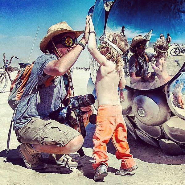 Burning Man Principles on the Playa