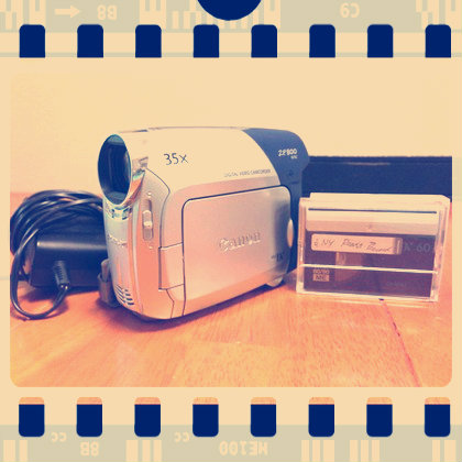 free Video camcorder - Canon ZR800 NTSC