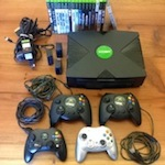 XBOX with 17 Games