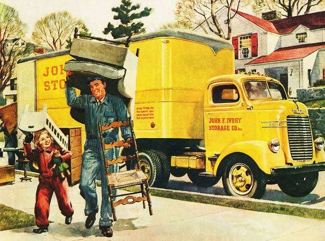 Vintage Moving Poster