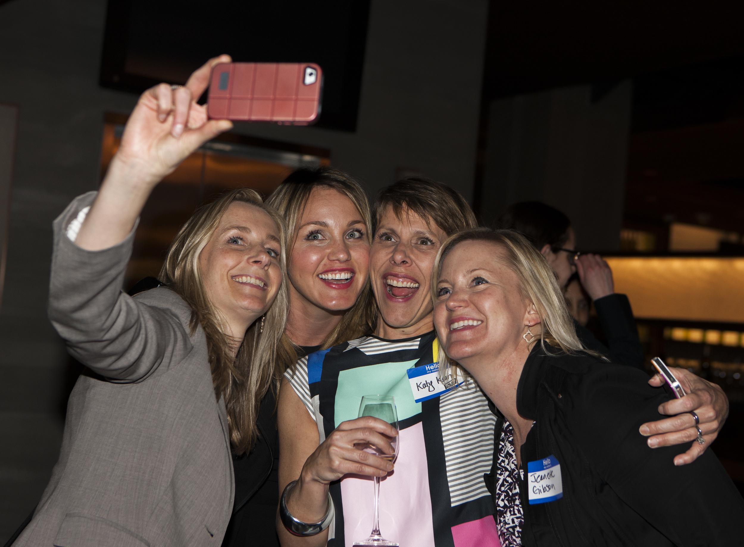 Social Media Ladies at Lithium Event