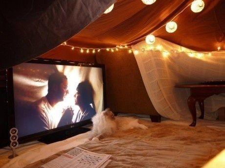 living room fort