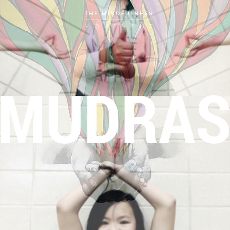 The Mindfulness Movement kids learn how to #createthegraceusing mudras!