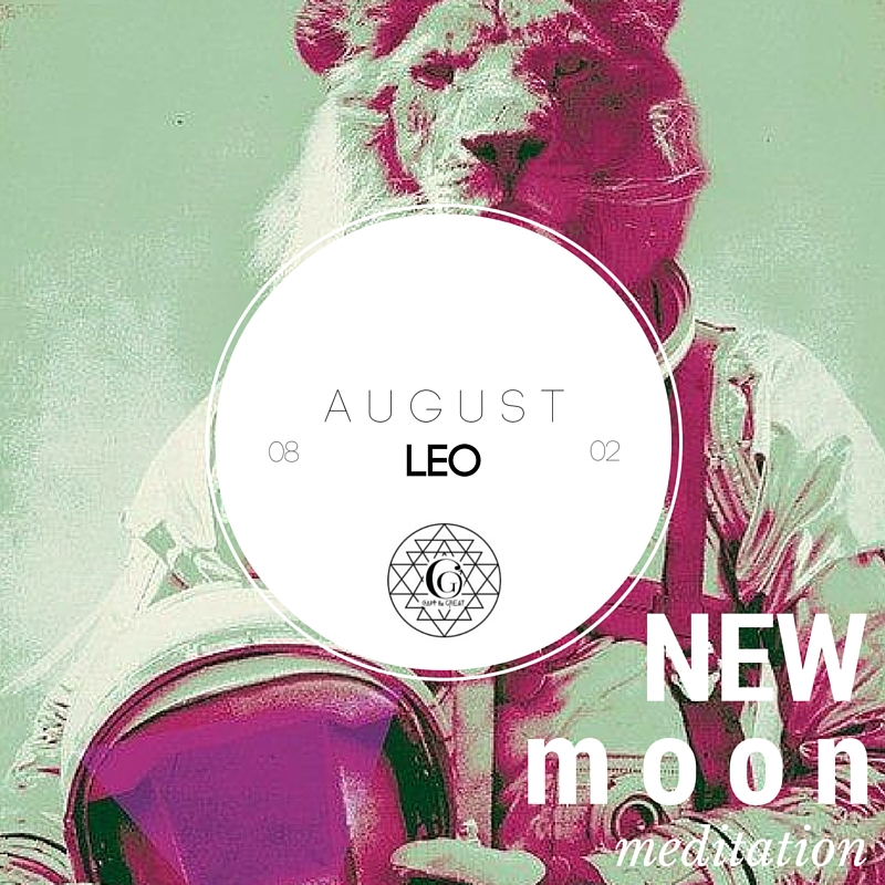 August's New Moon is in Leo. Leo is all about being  generous, loyal, proud, paternal, organized, playful. Join us August 2nd!  Get tickets!