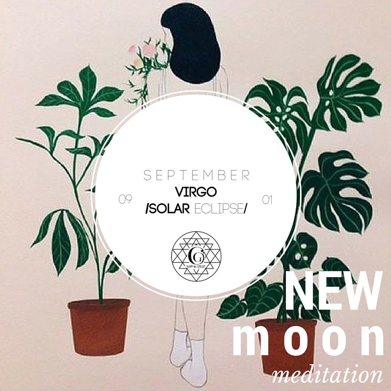 September's New Moon is in Virgo. Virgo is all about being  practical, hardworking, discerning, analytical, pure,  & service-oriented. Join us September 1st!  Get tickets!