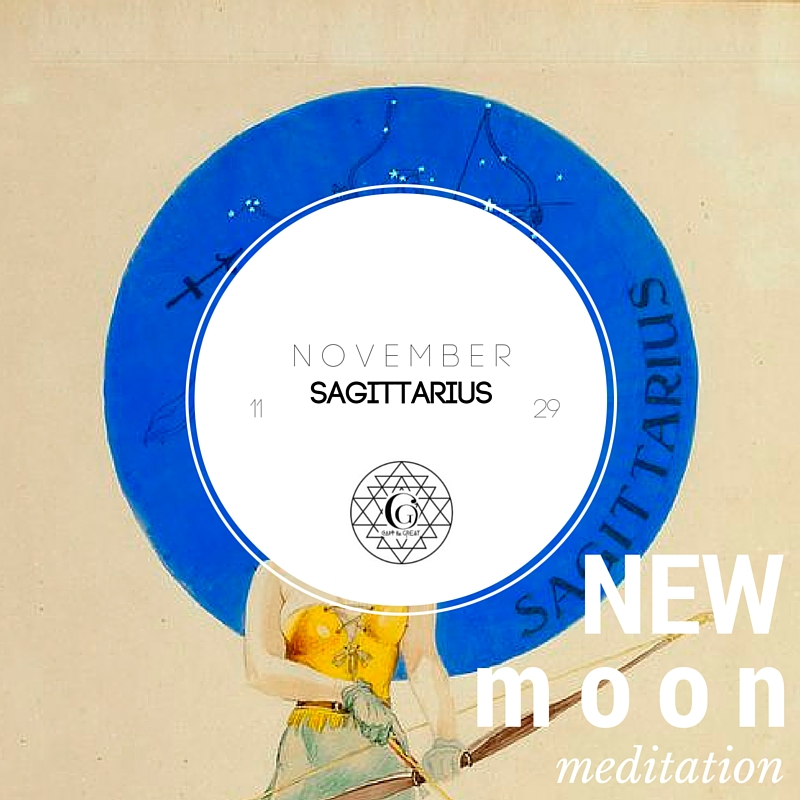 November's New Moon is in Sagittarius. Sagittarius is all about being truthful, optimistic, philosophical, independent, inquiring, futuristic. Join us November 29th! Get tickets!