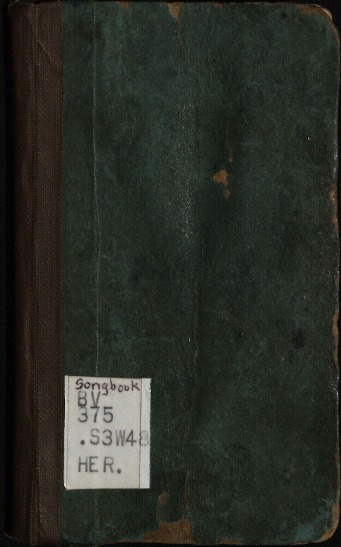 Cover-James White's 1849 Hymnal