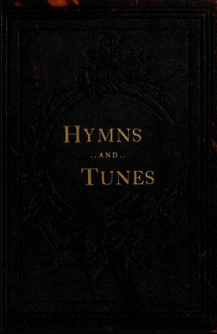 Cover of 1886 Hymnal