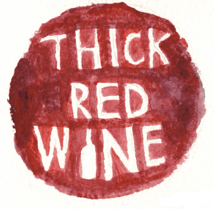 Thick Red Wine
