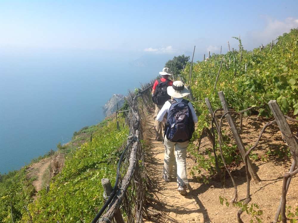 between Volastra and Corniglia
