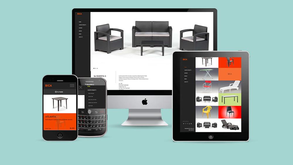 WEB DESIGN RESPONSIVE - BICA