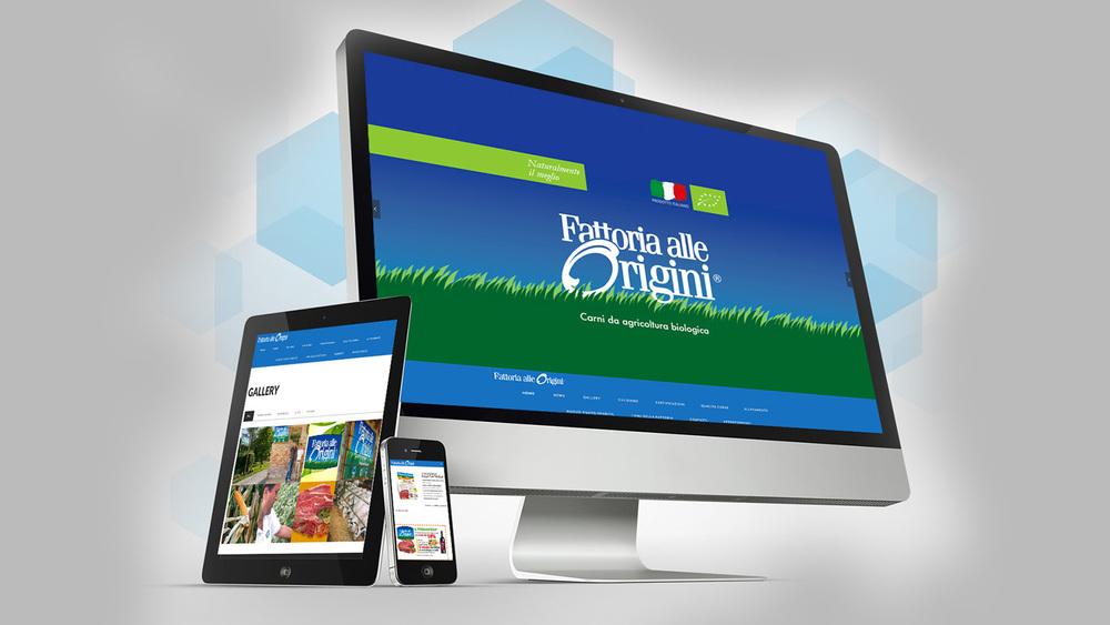 WEB SITE RESPONSIVE - FATTORIA ALLE ORIGINI