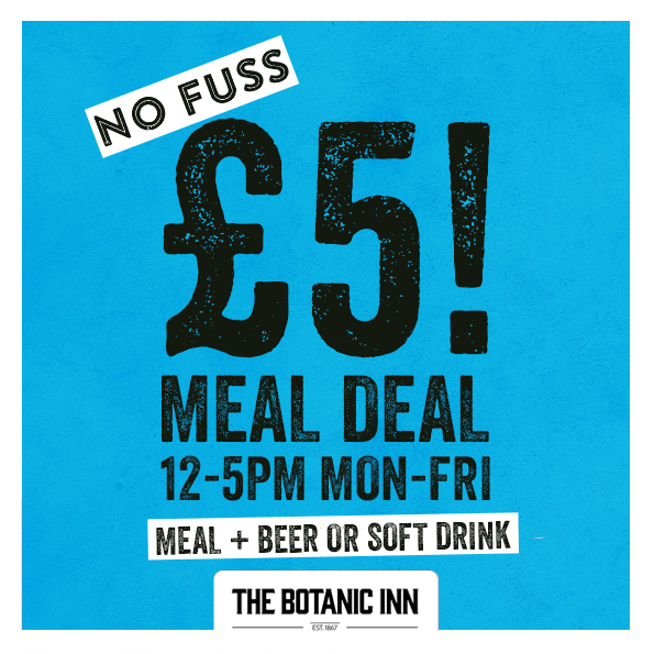 £5 Lunch Deal, Botanic Inn, Belfast