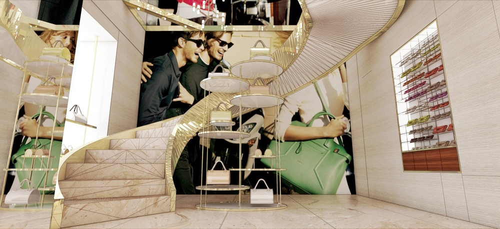 Scala Interior Design - Furla Roma