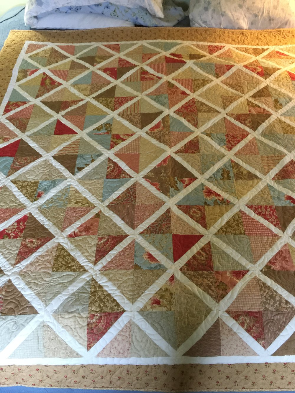 My First Quilt Pattern Lattice Harmony Hills Farm