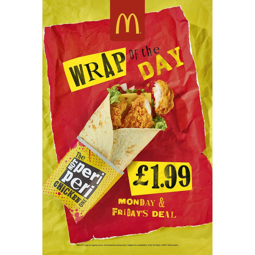 McDonalds Wraps 2017