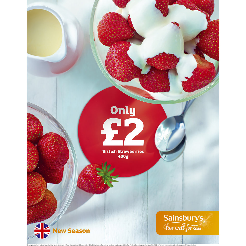 Sainsbury's Press 2015