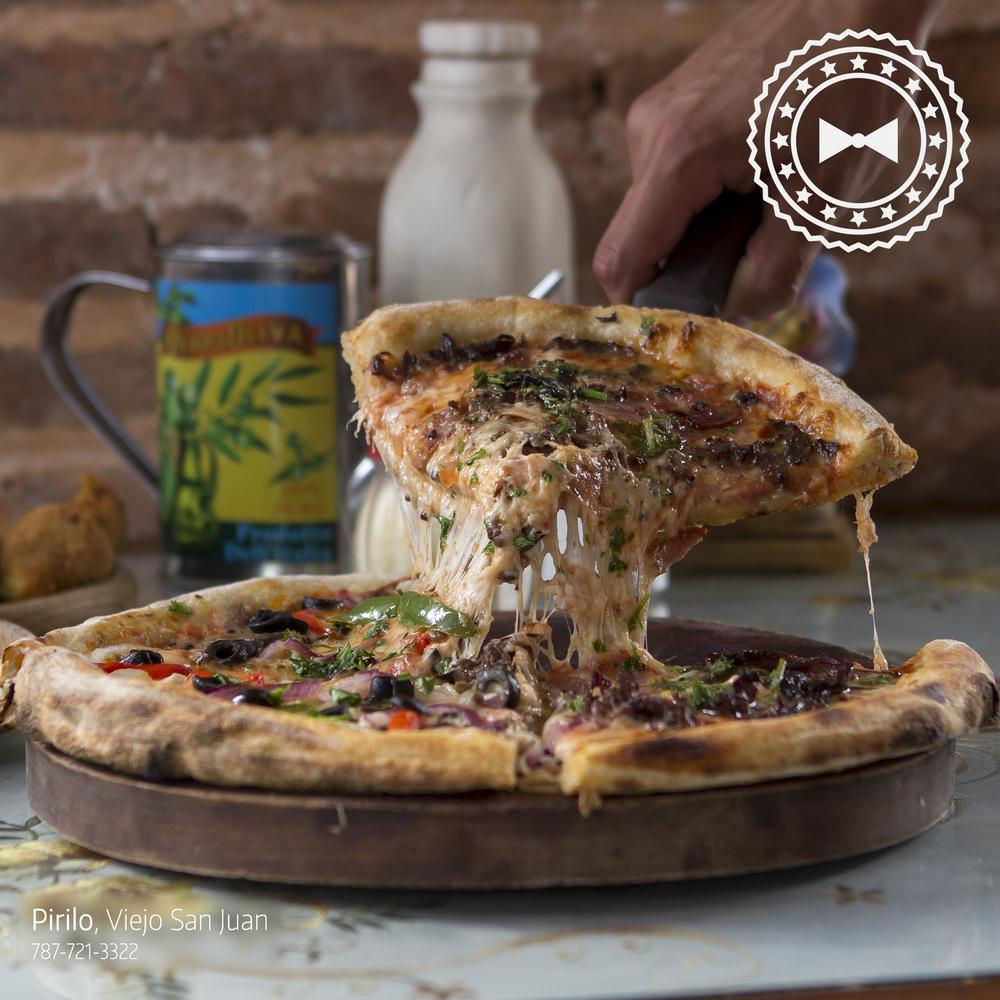La Pampa,   Pirilo Pizza Rústica  , Viejo San Juan