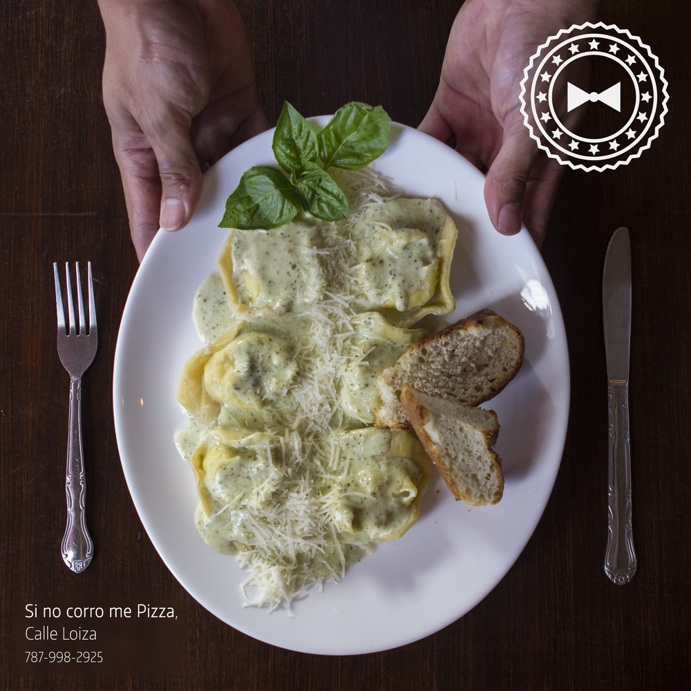 Raviolis Cuatro Quesos,   Si No Corro Me Pizza  , Santurce