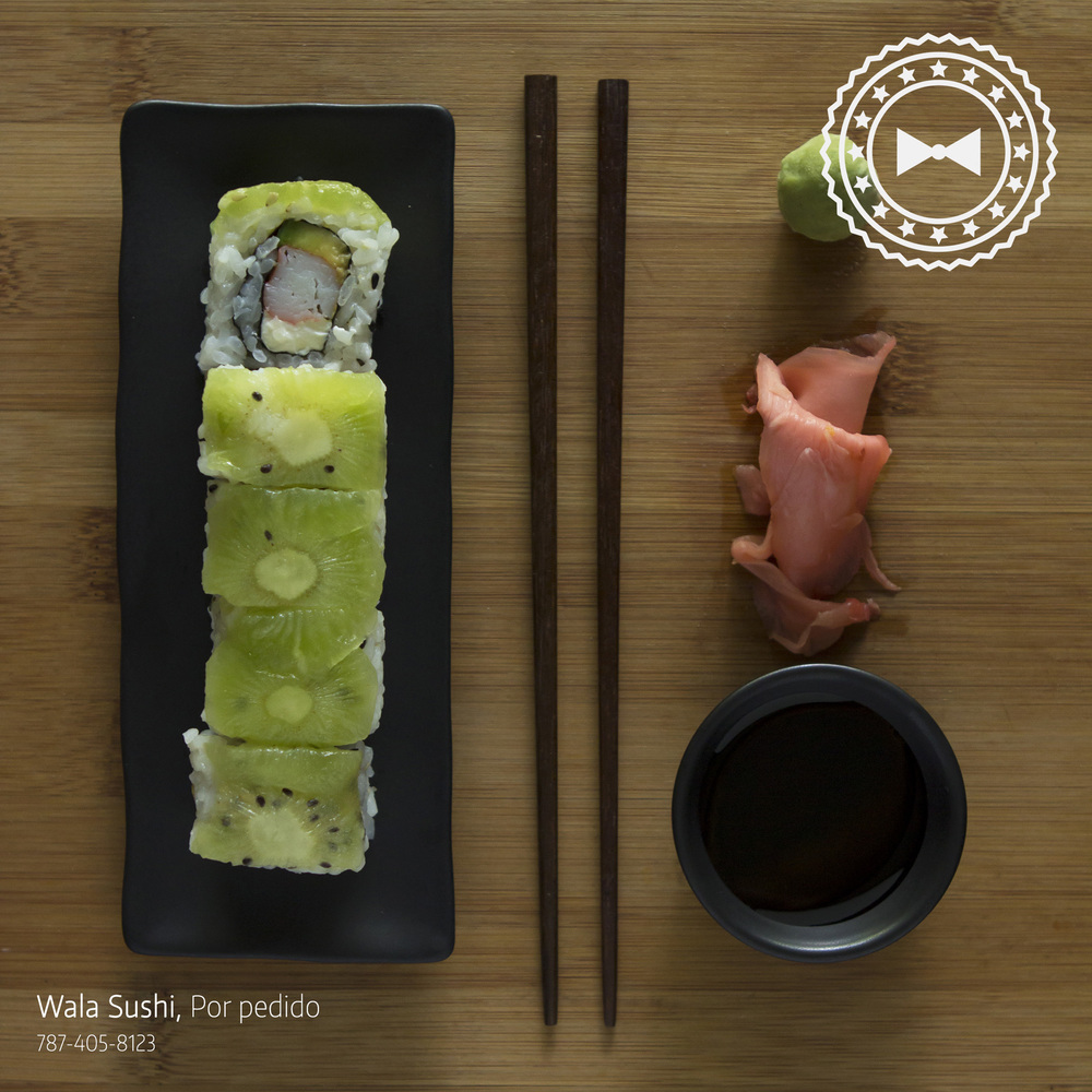 Isaiah Roll, Wala Sushi At Home (Por pedidos), Caguas