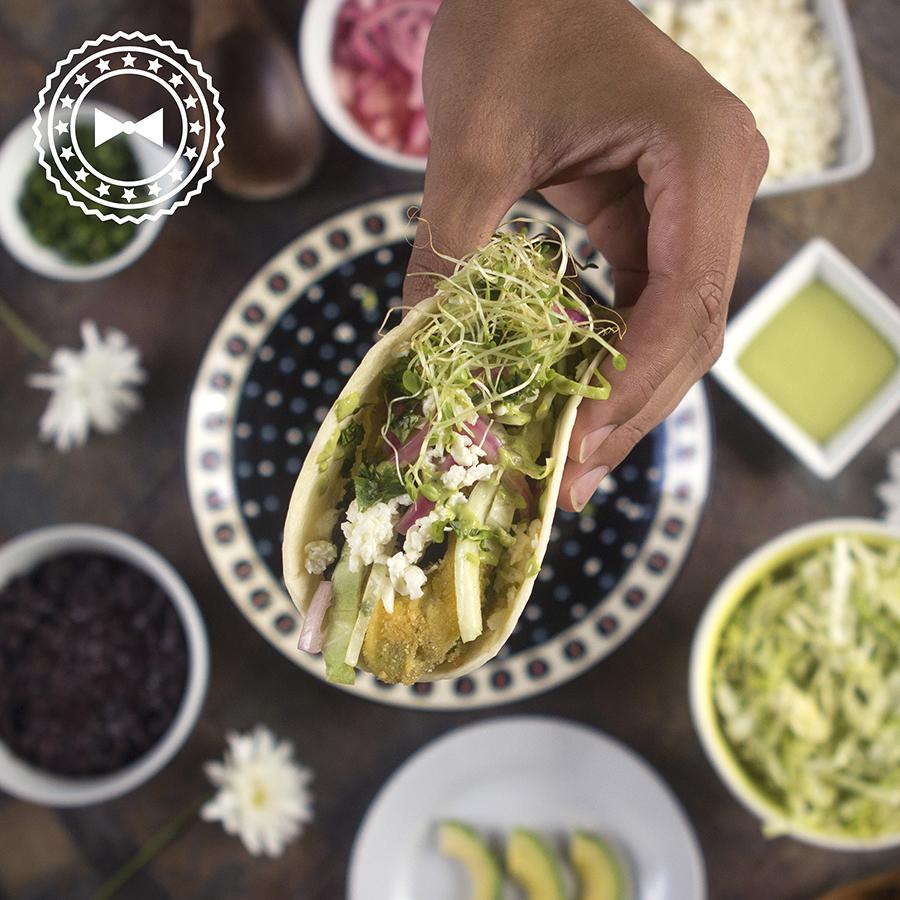 Veggie tacos.
