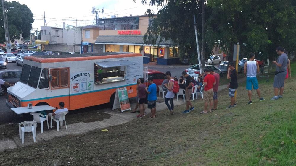 La Sambuca Foodtruck antes de abrir. Foto subministrada por A. Otero.
